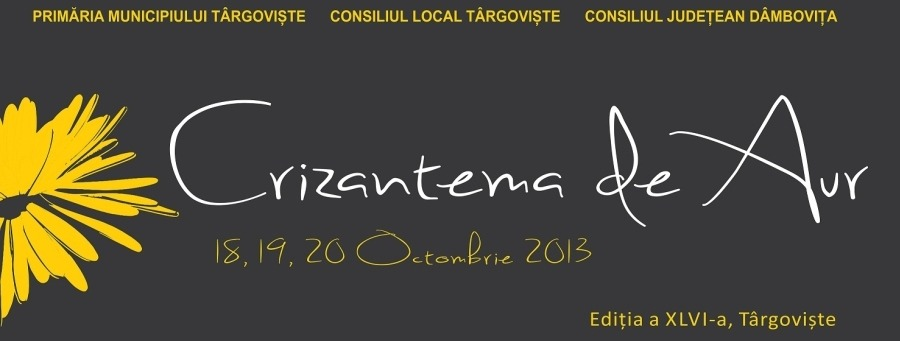 Afis Crizantema de Aur 2013